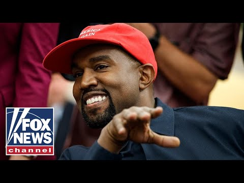 Kanye West says he's running for president