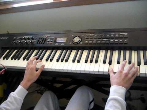 Plexdudeblob plays Theme from Cosmos on Piano