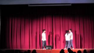 skhcyss的SKHCYSS 2014-15 歌唱比賽決賽 Chris Wong(馮永康,胡耀峰,廖夢詩,張秀雯,吳家鋭) 如果我是陳奕迅相片