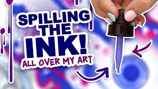 LET'S TRY SOMETHING CRAZY! | Mystery Art Box | ArtSnacks Unboxing | Watercolor Ink + Baby Krink