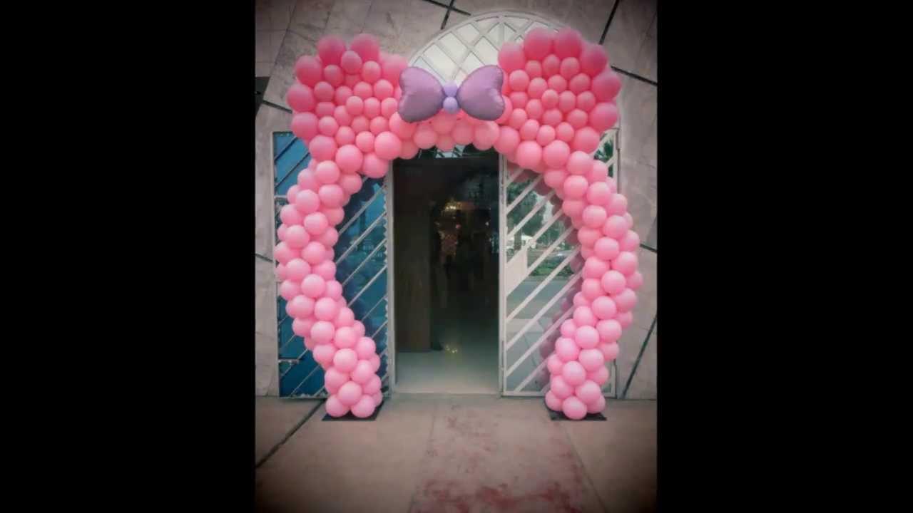 Decoracion Minnie Mouse ~ Decoracion Con Globos Minnie Mouse Images Pictures  Apps Directories