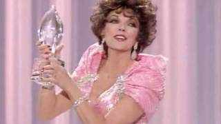 Joan Collins Favorite Actress 1985