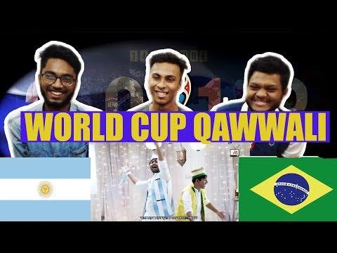 Aafi World Cup Qawwali || Shamim Hasan Sarker || Tamim Mridha || Brazil vs Argentina | Reaction