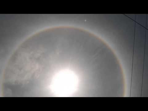 Halo solar en acapulco 2014