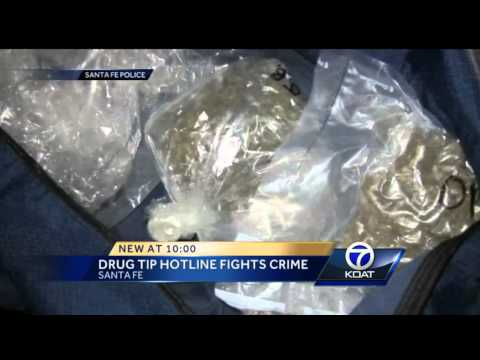 Santa Fe police use phone line to crack down on drug use, burglary