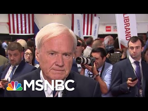 Chris Matthews: Biden Had To Play A Lot Of Defense Tonight | MSNBC