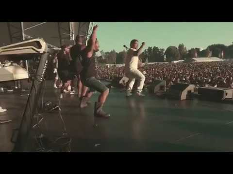 Spawnbreezie Performs Haka At One Love Concert NZ 2017
