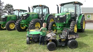 LITTLE BOY LOVES JOHN DEERE TRACTOR COMPANY