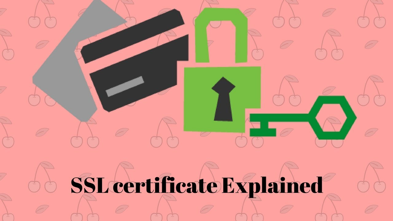 Ssl Certificate Explained Youtube