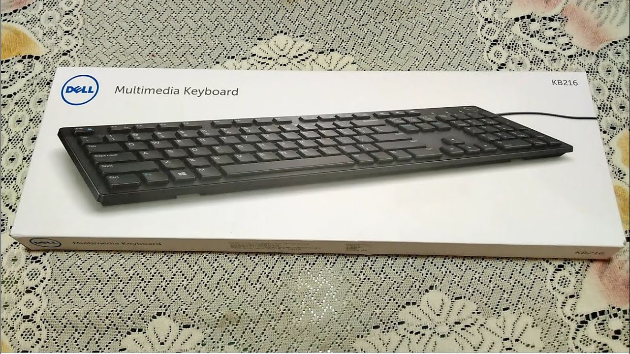 Dell Kb216 Unboxing And Review Best Keyboard Under 500 Rs Hindi