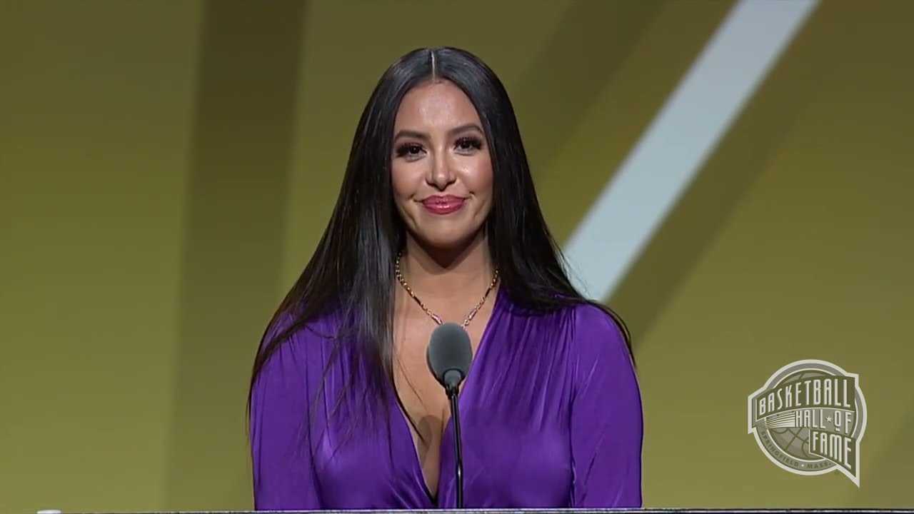 Kobe Bryant Inducted Into B-Ball Hall of Fame with Emotional Tribute From Vanessa Bryant
