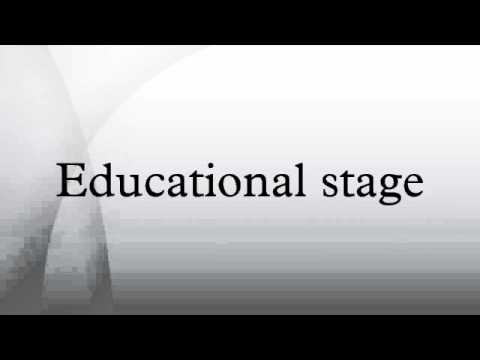 Educational stage