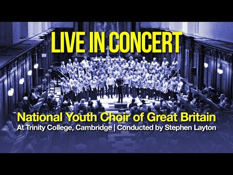 Live from Trinity College, Cambridge   August 2017   NYCGB
