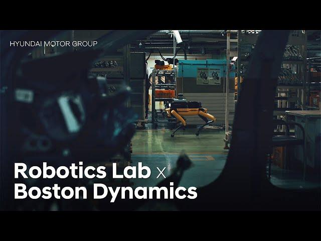 Hyundai Motor Group x Boston Dynamics 'Factory Safety Service Robot'