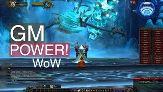 Repeat youtube video WoW GM Power! (cataclysm 4.0.6)