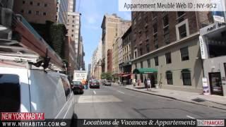 Manhattan, New York - Visite guidée d'un appartement meublé T2 dans l'Upper East Side