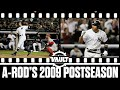 Alex Rodriguez's MONSTER 2009 Postseason! (A-Rod finished with 6 home runs)