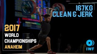 Jose Montes | 167kg Clean & Jerk