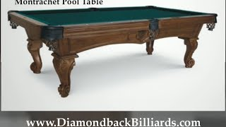 Montrachet Pool Table Call 480-792-1115 For Pricing And Options