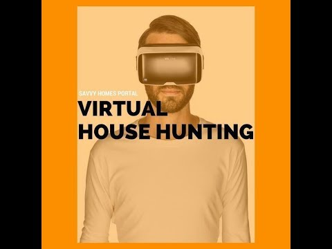 Welcome to my Virtual Reality House Hunting!