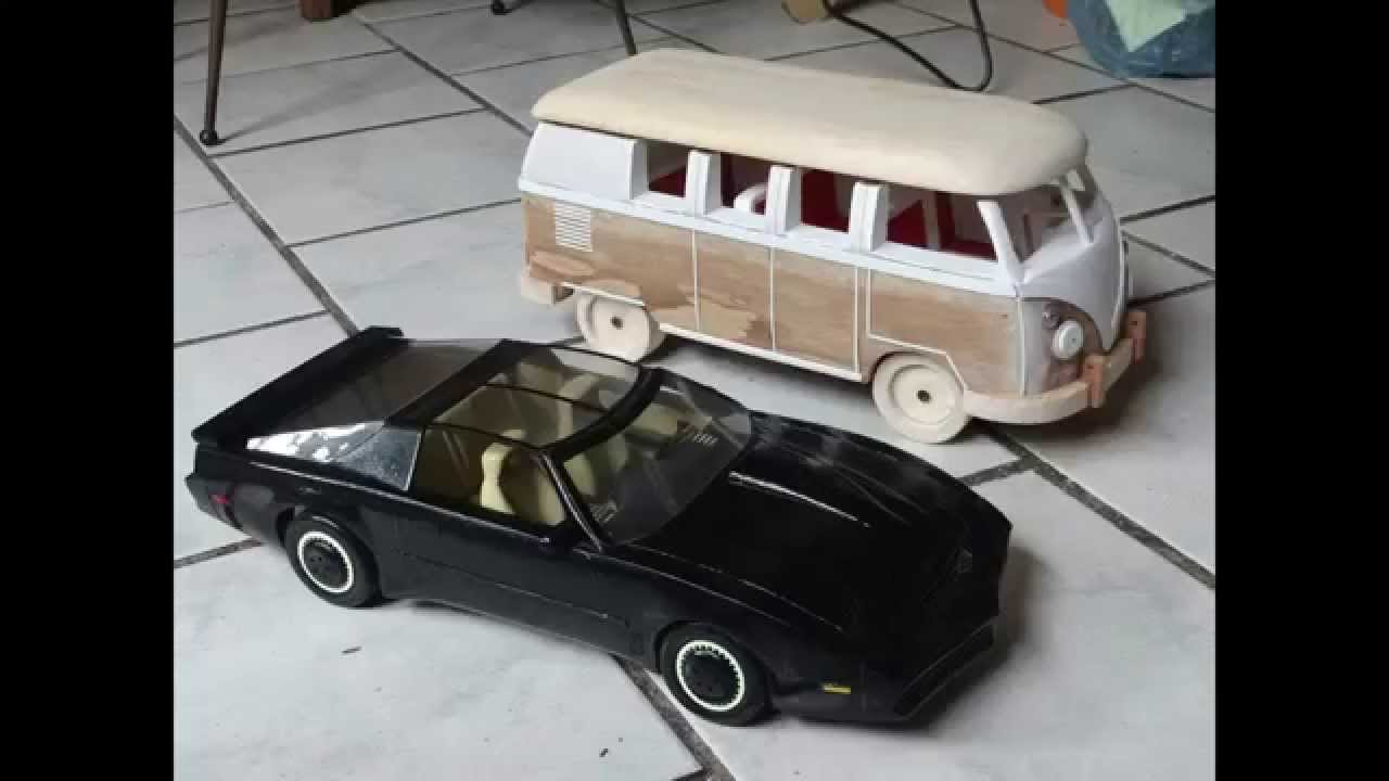 Carro de madera vw youtube for Carritos de cocina de madera