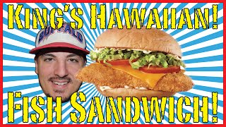 Arby's King's Hawaiian Fish Deluxe! - Food Review!