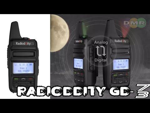 Unboxing talkpod D55 DMR UHF radio by PMR 446 DMR