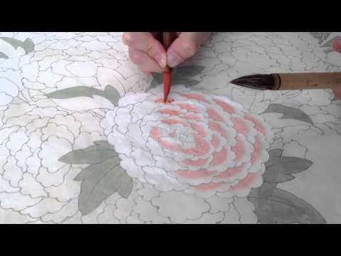 Minhwa: Korean traditional painting demonstration