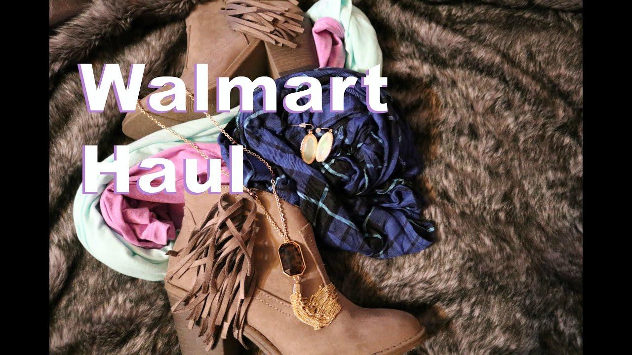 5245b11e3ca Walmart Fall Clothing Haul - YouTube
