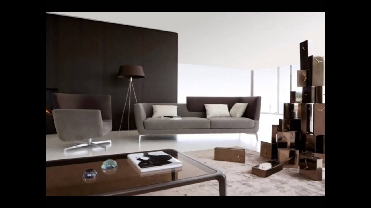 moderne m bel wohnzimmer youtube. Black Bedroom Furniture Sets. Home Design Ideas