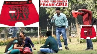 Blind Guy Taking Photo with Chaddi (Underwear) In front of GIRLS,Pranks in India 2017!!Funky TV!!