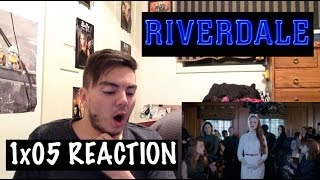riverdale 1x05 chapter five heart of darkness reaction