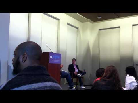 Who We Be: Jeff Chang + Kiese Laymon  Lecture at NYU 4/18 (part 3)