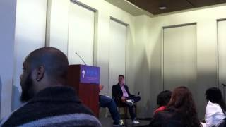 Who We Be: Jeff Chang + Kiese Laymon  Lecture at NYU 4/18 (part 3)