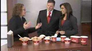 FOX17 Morning News WXMI - Grand Rapids - Cold Stone Creamery Ice Cream for Breakfast
