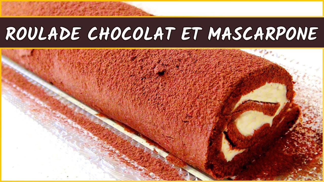 Recette roule au chocolat en poudre