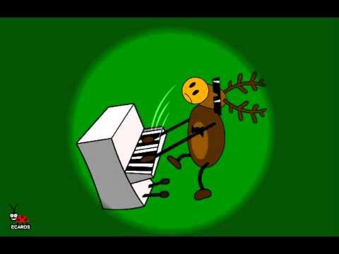 Animated Musical E-cards. Christmas Band.