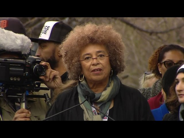Women's March - Angela Davis in Washington