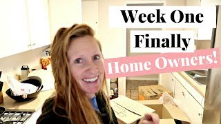 First Week as Home Owners! - House Hunt Update #6