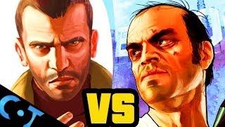 Niko vs Trevor - Grand Theft Auto Face Off