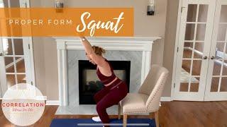 Proper Form: Squat