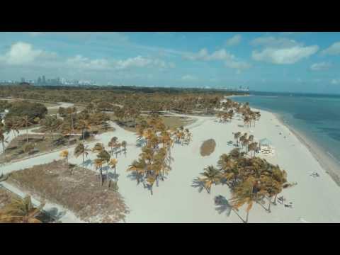 Key Biscayne Drone footage