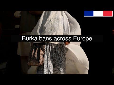 Burka bans across Europe