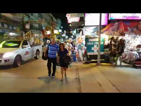Soi Buakhao Tourism Is Dying 12.01.2018 11:30pm Pattaya Thailand