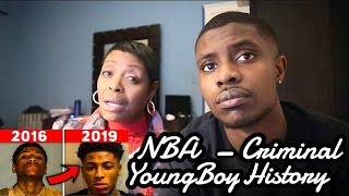 MOM REACTS TO The Criminal History of NBA Youngboy