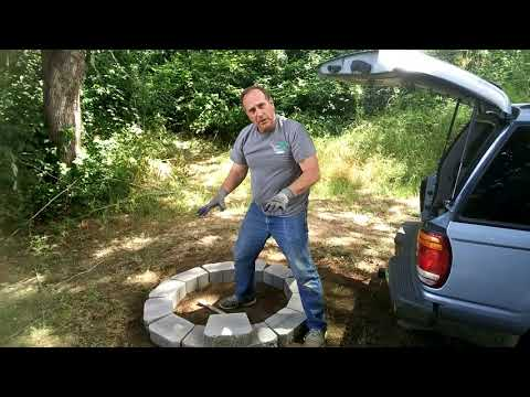 The Five Minute Fire Pit - Easy Project!