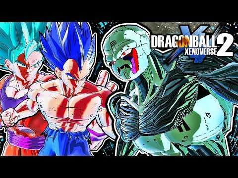 Dragon Ball Xenoverse 2 PC: Metal Cooler Core Raid Boss DLC Mod Gameplay Vs (Return of Cooler Movie)