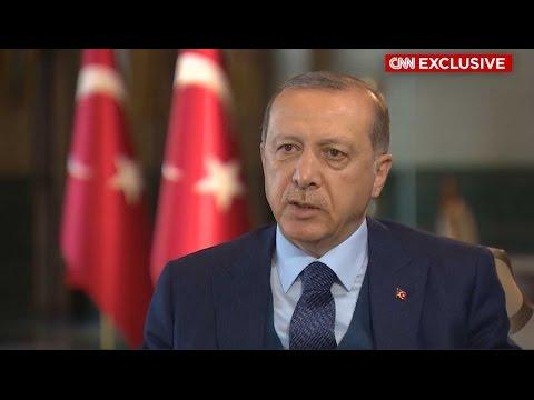 Αποκλειστική συνέντευξη Ερντογάν στο CNN International