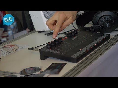 Uno Synth IK Multimedia der Laptop Synthesizer - Superbooth 2018