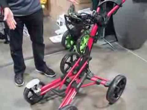 Model 8 Clicgear 4 Wheel Cart Youtube